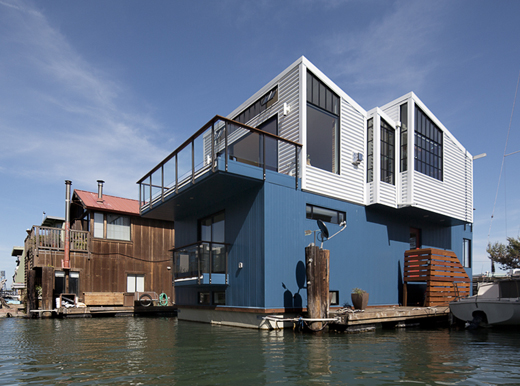 Bay Area San Francisco Floating House Boat